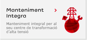 Manteniment Integra. Manteniment integral per al seu centre de transformació d'alta tensió