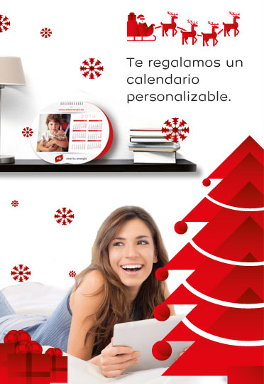 Te regalamos un calendario personalizable