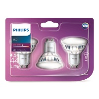 3 PHILIPS 400 LUMEN LED BONBILLA
