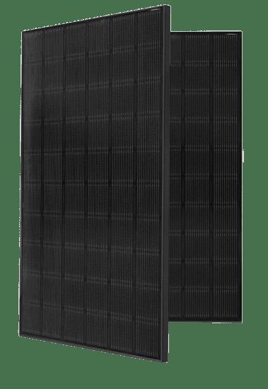 Paneles solares negros