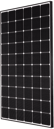 Bateria solar Gama Premium Frame Black
