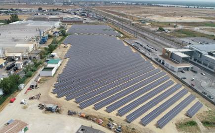 EDP Comercial instala su mayor parque solar con almacenamiento de energía en Portugal